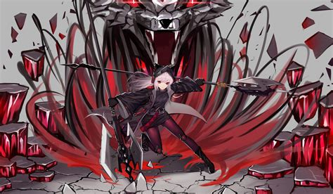 Hd Wallpaper Video Game Arknights Anime Artwork