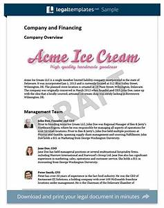 two page business plan template - what is a business plan template