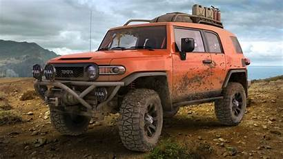 Fj Cruiser Toyota Offroad Wallpapers Mud Land