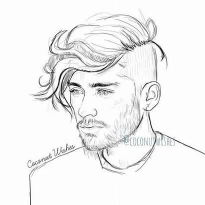 Drawings Drawing Zayn Malik Cool Boy Easy