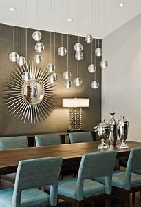 Spiegel Im Esszimmer : esszimmer modern einrichten pendelleuchten spiegel rund aqua st hle wohnideeen in 2019 ~ Orissabook.com Haus und Dekorationen