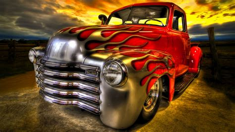 Rusty Old Truck Wallpaper