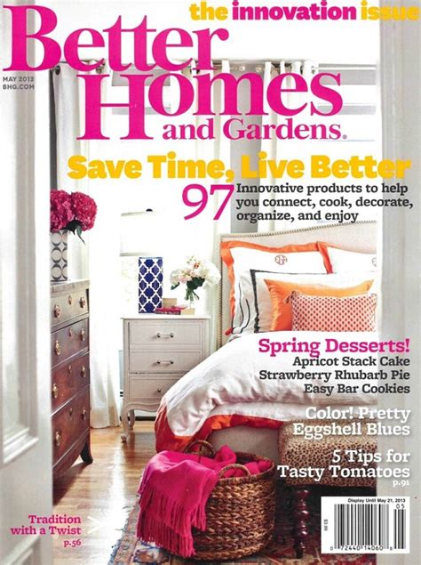 better homes and gardens magazine cover the best interior design magazine covers of 2013 interior design magazines