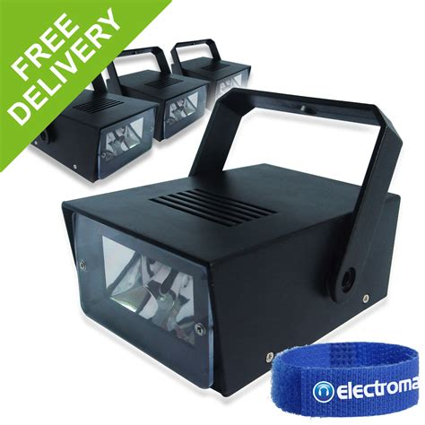 battery operated party lights 4x soundlab battery operated mini led strobe party lights