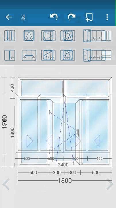 window  door pvc upvc aluminum design draw