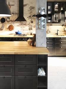 Cuisine Industrielle Ikea : des cuisines qui ont de la personnalit l 39 atelier agit ~ Dode.kayakingforconservation.com Idées de Décoration