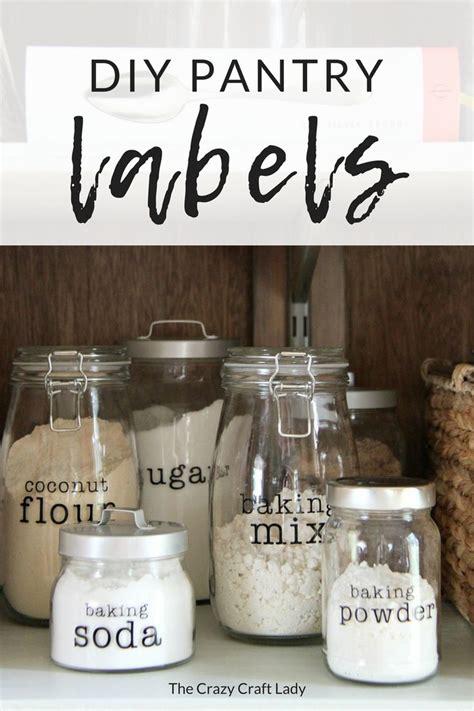 customize  create diy pantry labels   cricut