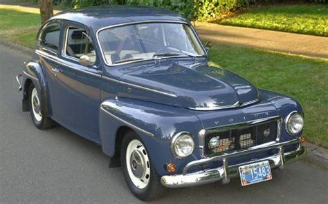 Vintage Volvos For Sale by Volvo Pv544 Made In 1962 Not 1948 Believe It Or Not
