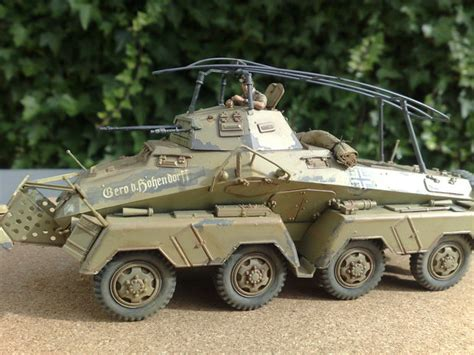 scale model gallery german 8 wheeled heavy armored car sd