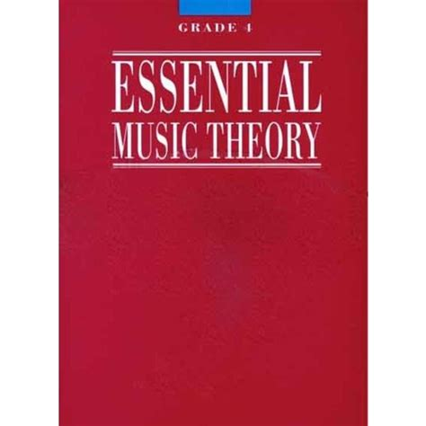 (this set includes words from grades 3, 2 and 1 which may be included in the exam.) Essential Music Theory Grade 4