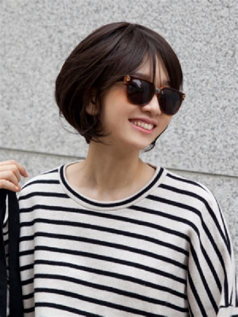 korean short hairstyles  women elle hairstyles