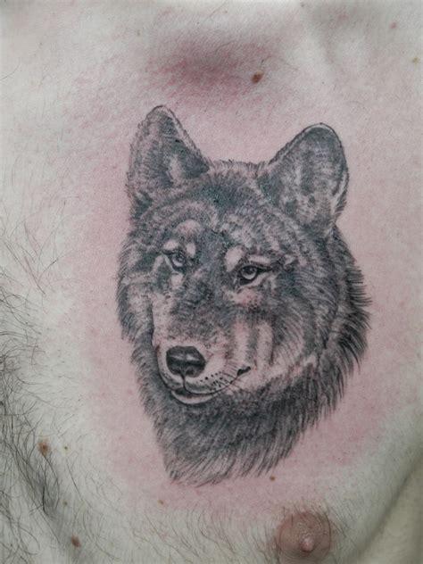 Loup  Lion'l Tatouage