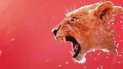 Lion Roaring Wallpapers 5k 1080 1920