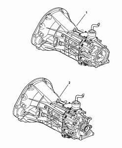 2005 Dodge Dakota Transmission Assembly Of Manual Transmission