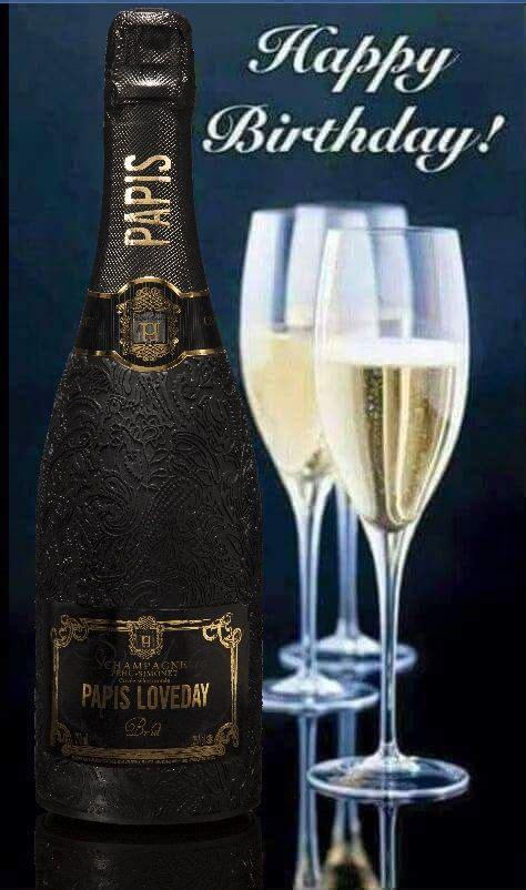 happy birthday champagner bild roederer champagne bonne