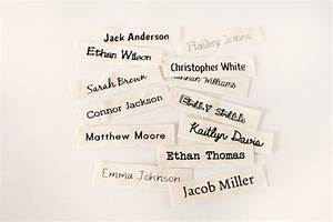 Organic cotton name labels sew on name tags clothing for How to sew labels on clothes