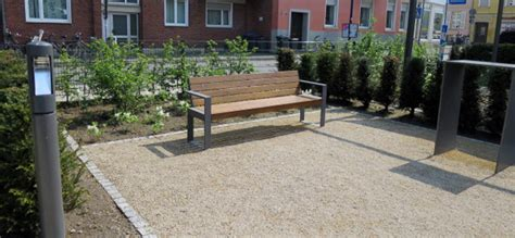 Garten Landschaftsbau Thieme by Sitzbank Cubo Referenzen Ii Stadtmobiliar Thieme Gmbh