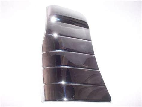 chevrolet chrome gravel shields classic