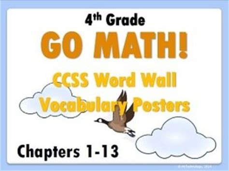 37 Best Images About Go Math 4th & 5th Grades On Pinterest