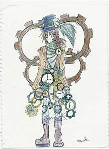 Steampunk Girl by KudamonoManga on DeviantArt