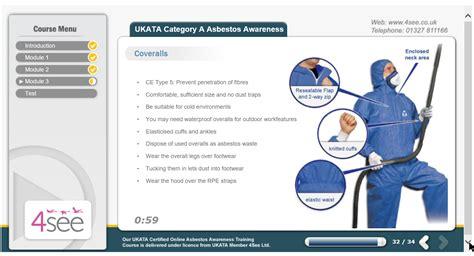 asbestos awareness ukata  training  courses
