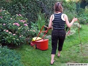 Tondre La Pelouse Sans Ramasser : la tonte de la pelouse ~ Melissatoandfro.com Idées de Décoration