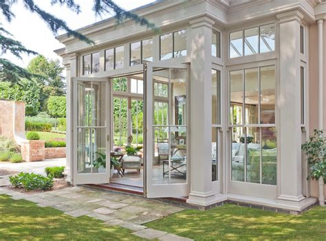 Conservatory Sunroom by Orangery With Bi Fold Doors Conservatory By Vale Garden