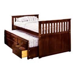 venetian worldwide montana ii twin bed w trundle 3 drawers home furniture bedroom