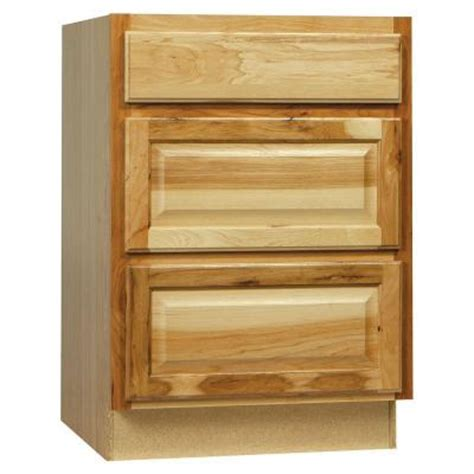 home depot hickory base cabinets hton bay 24x34 5x24 in hton drawer base cabinet