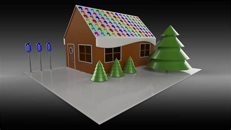 solidworks magnetic mates  gingerbread house design easy