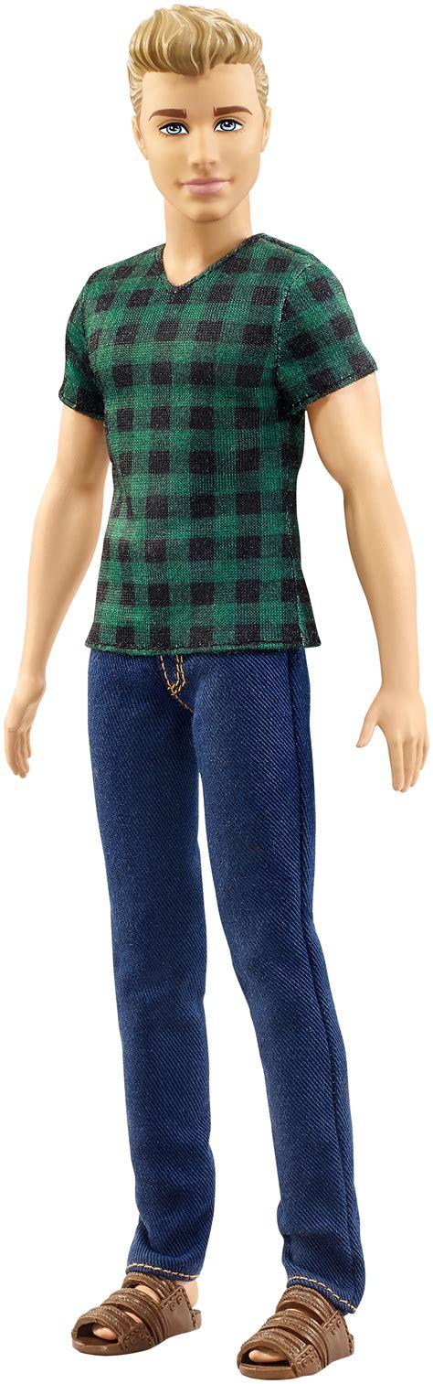 plaid blue shirt amazon com fashionistas ken doll checked style