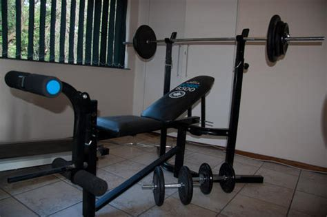 Bench Press At Home by Home Gyms Bench Press Home 100kg Weights Was