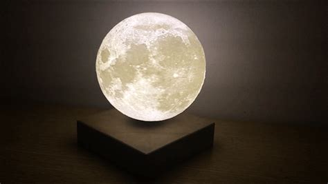 up moon levitating moon light is real time galactic replica for Light