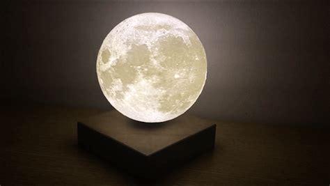 levitating moon light  real time galactic replica