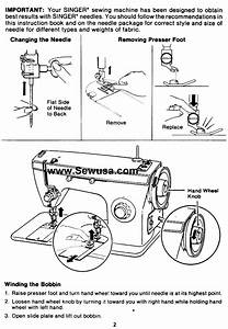 Singer 3102 Sewing Machine Threading Diagram
