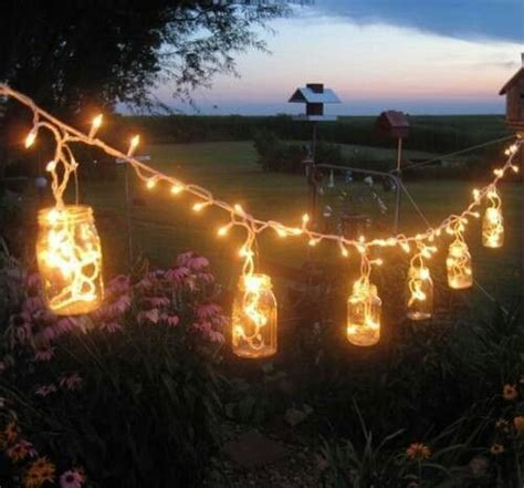 icicle lights in mason jars diy lighting pinterest