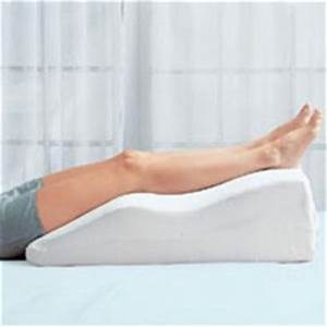 varicose veins home remediestreatments and cures lady With elevation pillow for feet