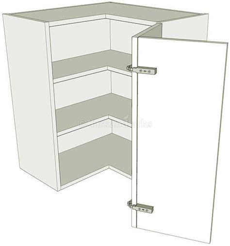 Corner Kitchen Wall Unit 'l' Shape Medium