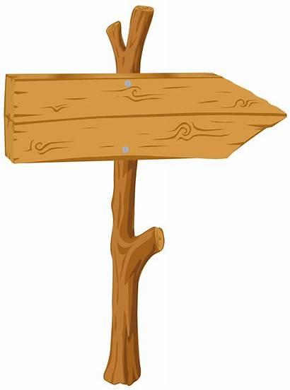 Sign Wooden Clipart Transparent Wood Clip Cliparts