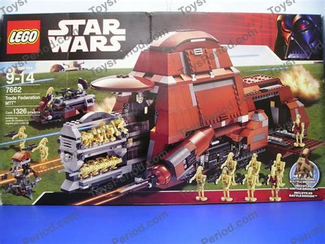 lego 7662 trade federation mtt wars droid tank
