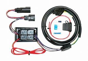 Khrome Werks Plug  U0026 Play Trailer Wiring Harness Kit For Harley Touring 2014-2015