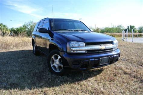 Buy Used 2008 Chevrolet Trailblazer 4wd Sport Utility 4