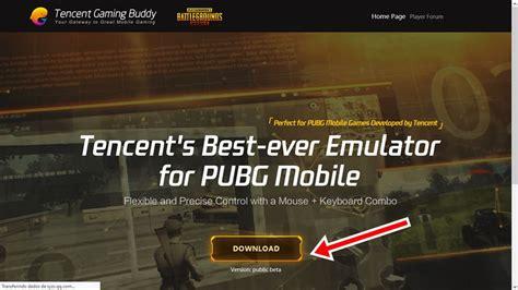 pubg mobile emulador tencent oficial windows 10 mobile gamer tudo sobre jogos de celular