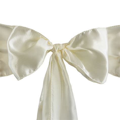 200 x wholesale lot satin chair sashes ties bows wedding