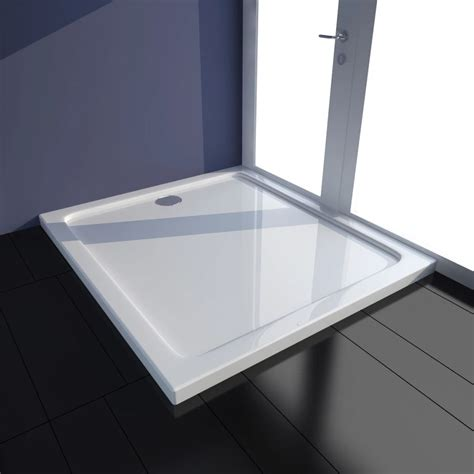piatto doccia 100 x 90 piatto doccia rettangolare in abs bianco 80 x 90 cm