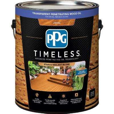 ppg timeless transparent wood deck stain exterior