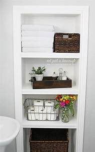 60, Best, Small, Bathroom, Storage, Ideas, And, Tips, For, 2021
