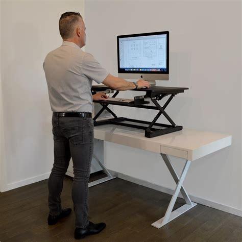 desk top stand up desk work up desk top black adjustable sit to stand desk xafd