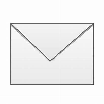 Envelope Clipart Vector Closed Transparent Background Clip
