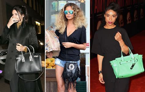 Celebs Carry Choice Bags from Saint Laurent, Roger Vivier